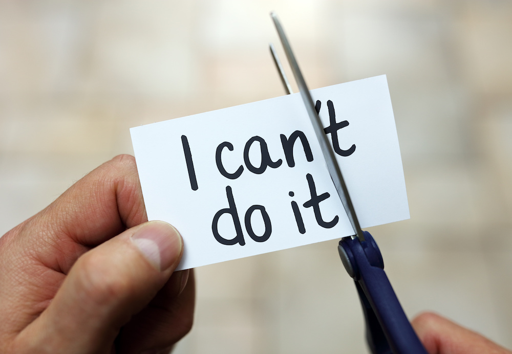 I can do it – confidence