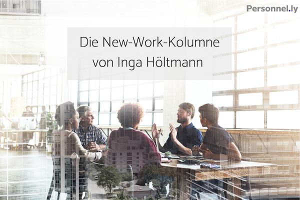 Digitale Trans. Die New-Work-Kolumne von Inga Höltmann