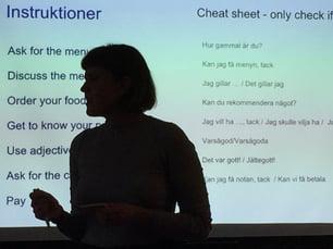 swedish teacher