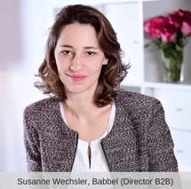 Susanne Wechsler mit Titel