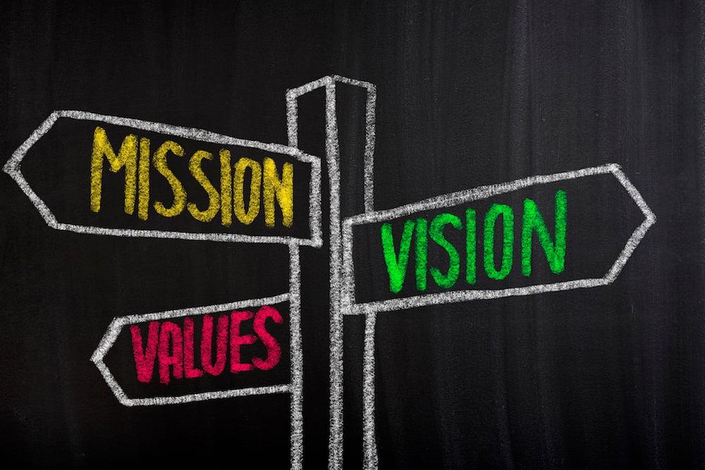Der Unterschied zwischen vision und mission statement