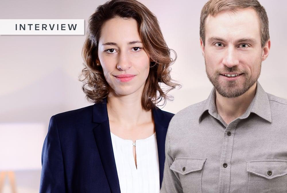 Susanne und Arne im Interview